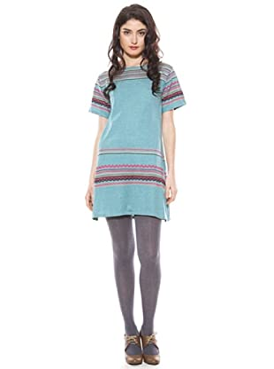 La Casita de Wendy Vestido Étnico (Azul)