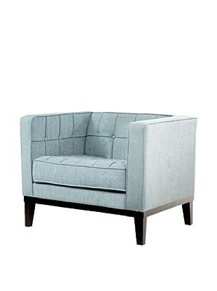 Armen Living Roxbury Chair, Spa Blue