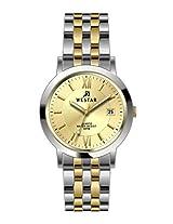 Westar Analog Light Champagne Dial Men's Watch 5533CBN102