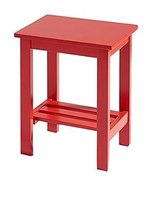 13 Casa Couchtisch Kaos F8 rot
