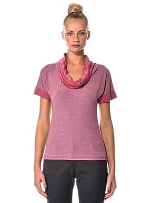Eccentrica Camiseta MC Drapeado (Rosa)
