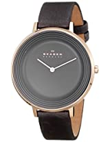 Skagen Analog Ditte Quartz Gray Dial Watch - SKW2216