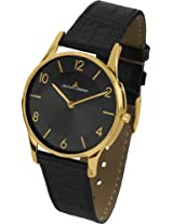 Jacques Lemans Analog Black Dial Women's Watch - 1-1778O