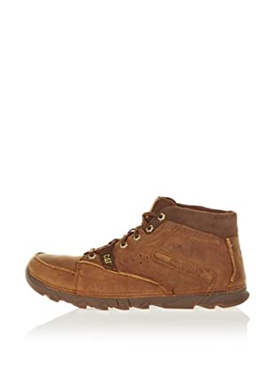 Cat Mid Cut Boot Stat Mid (Dark Beige)