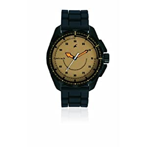 Fastrack Commando Analog Brown Dial Men's Watch - 3084NP01