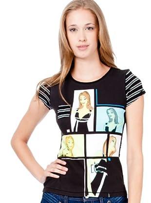 Custo Camiseta Comblack (Negro)