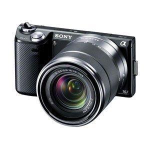【クリックでお店のこの商品のページへ】SONY デジタル一眼カメラ α NEX-5N ズームレンズキット ブラック NEX-5NK/B