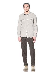 Steven Alan Men's CPO Shirt Jacket (Light Grey)