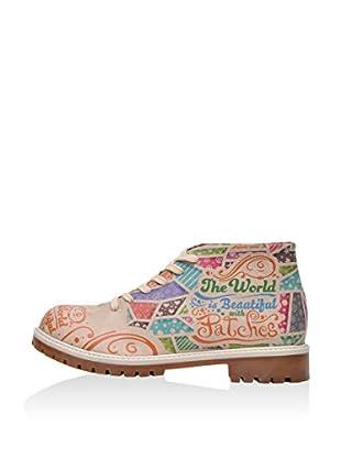 DOGO Zapatos de cordones Patches