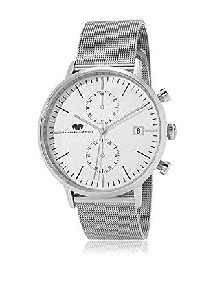 Rhodenwald & Söhne Uhr mit Japanischem Quarzuhrwerk 10010078 silber 43.5  mm