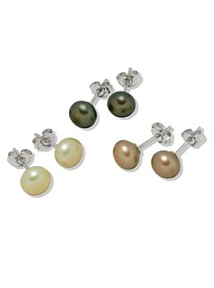 Valero Pearls 60200124 - Pendientes de mujer de plata con perla cultivada de agua dulce