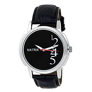 MATRIX WCH-BK-13 Analog Black Dial Men's Watch