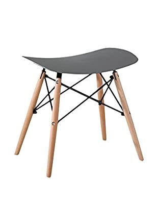 LO+DEMODA Hocker 2er Set Creta Wood H47Cm grau