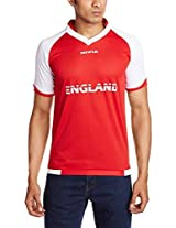 Nivia World Cup Jersey England Dual Color, Large