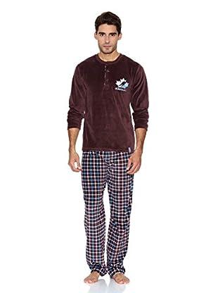 Bluedreams Pijama Tundosado (Chocolate)
