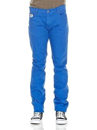 Franklin & Marshall Pantalón Geneva 5 Bolsillos (Azul)