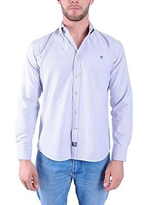 TIME OF BOCHA Camisa Hombre Lino