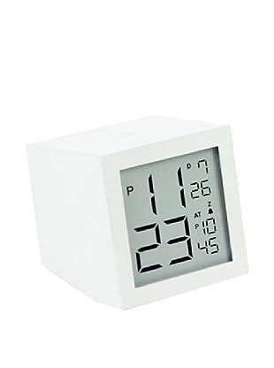 Lexon Prism LDC Clock, White