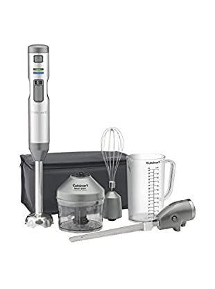 Cuisinart CSB-300 Smart Stick Variable Speed Cordless Rechargeable Hand Blender with an Electric Knife