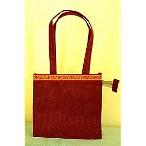 Knotty Nest Maroon Hand Bag