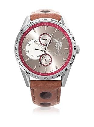 U.S.POLO ASSN. Uhr mit Miyota Uhrwerk Man USP4446RD 44.0 mm