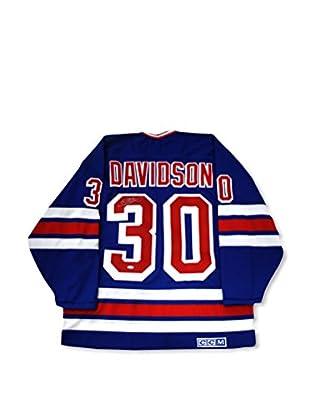 Steiner Sports Memorabilia John Davidson Signed New York Rangers Throwback Jersey