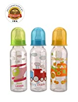Mee Mee Premium Feeding Bottle 240 ml Blue & Yellow