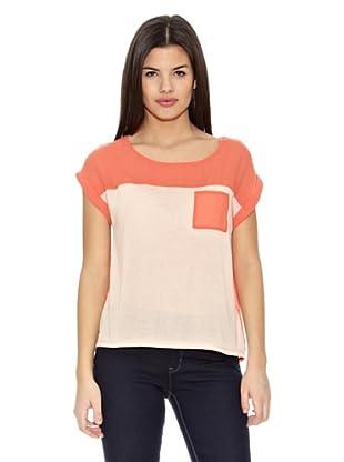 Springfield Camiseta Block (Coral / Nude)