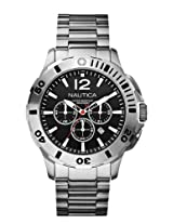 Nautica Chronograph Black Dial Men's Watch - A19581G