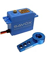 Savox Sw 0231 Mg Waterproof High Torque Std Digital Servo W/Free Aluminum Horn Bl
