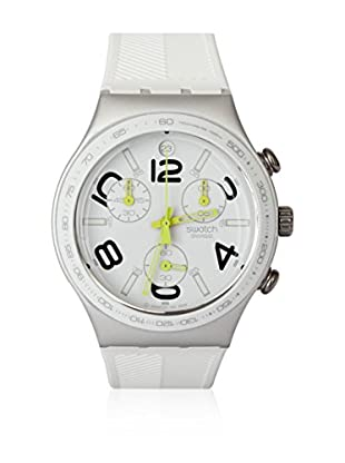 Swatch Quarzuhr Unisex Unisex RAY OF LIGHT WHITE YCS4051 40.0 mm