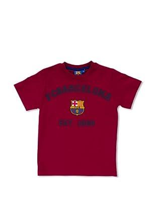 Licencias Camiseta Algodón F.C. Barcelona (Granate)