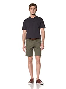 Standard Issue by Hyden Yoo Men's Mardet Shorts (Military Green)