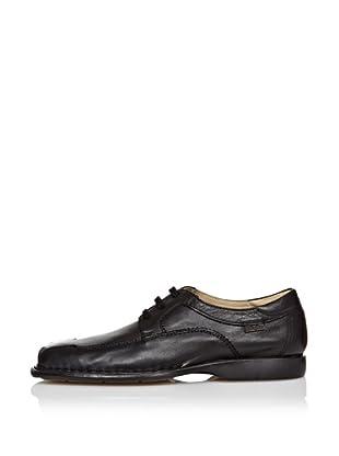 CallagHan Zapatos Cordones (Negro)