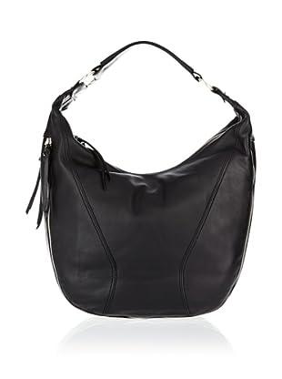 Braun Büffel ZIP Hobo Bag (Schwarz)
