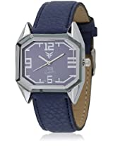 GL-009BL Blue/Blue Analog Watch Figo