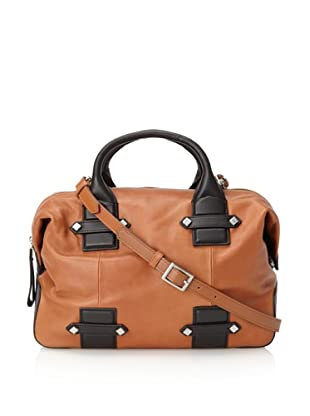 Allibelle Women's Beltway II Satchel (Coppertone/Black)