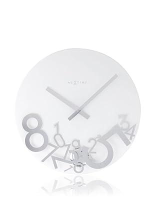 NeXtime Dropped Wall Clock (Glass)
