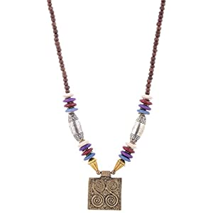 The Crazy Neck Multicolored Beads Neck Piece Necklace