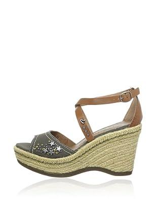 Replay Keil-Sandalette Bonie (Khaki)