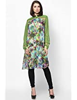 Georgette Green Tunic Satya Paul