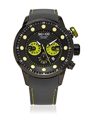 SO & CO New York Uhr mit japanischem Quarzuhrwerk Man GP16098 50 mm