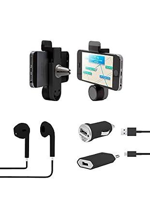 Unotec Kit Para Smartphone Negro