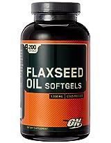 Optimum Nutrition (ON) Flaxseed Oil 1000 mg - 200 Softgels