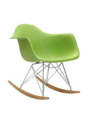 Modway Rocker Lounge Chair (Green)