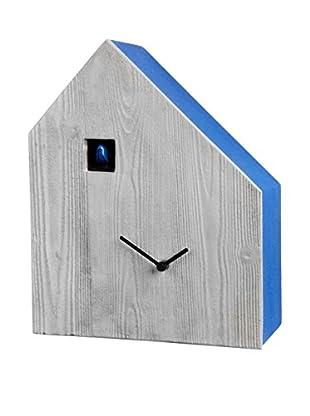 Diamantini & Domeniconi Reloj de Cuco Cemento Hielo/Azul