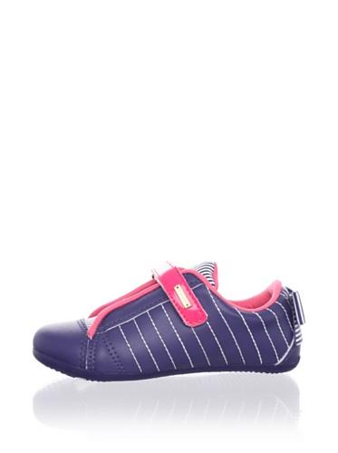 Pampili Kid's Pinstripe Sneaker (Blue)