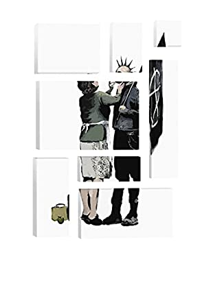 Banksy Anarchist And Mother 8-Piece Giclée On Canvas