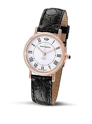 Philip Watch Quarzuhr Boudoir schwarz 30  mm