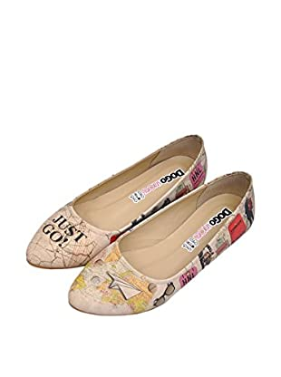 Dogo Bailarinas Travel Lover (Beige)